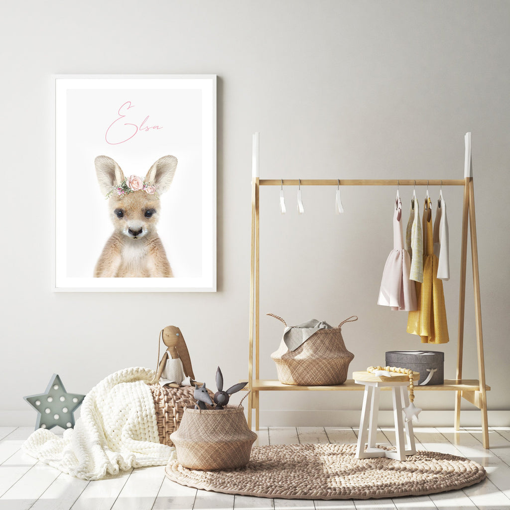 Personalised Kangaroo - Jenna Davie Illustration