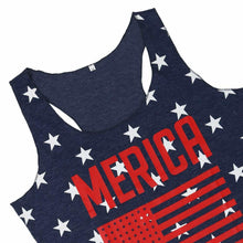 Load image into Gallery viewer, Merica American Flag Tank