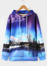 Load image into Gallery viewer, Unisex 3D Snow Tree Lake Hoodie