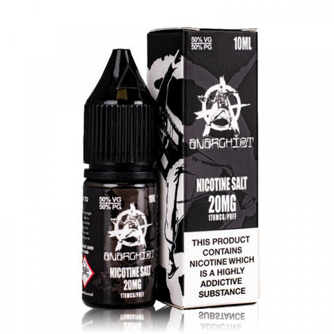 Black By Anarchist Salt 10ml
