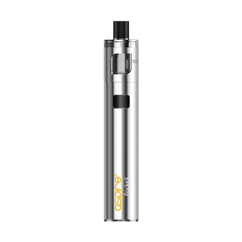 Aspire PockeX Subohm Kit (Stainless Steel)