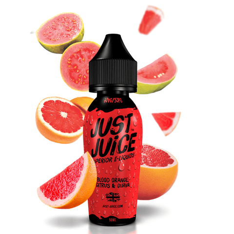 Blood Orange Citrus And Guava By Just Juice 50ml Shortfill