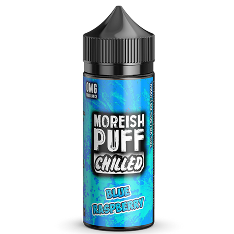 Blue Raspberry By Moreish Puff Chilled 100ml Shortfill