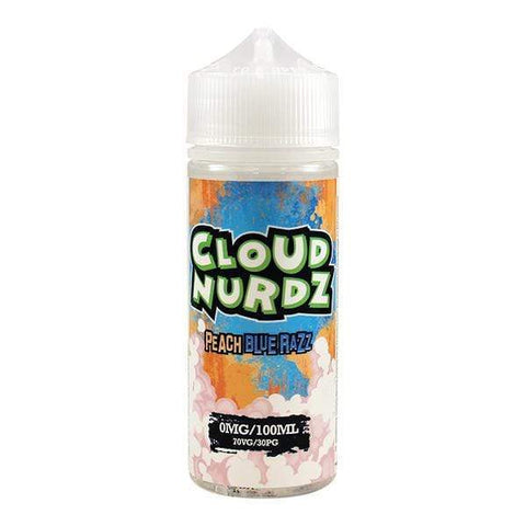 Peach Blue Razz By Cloud Nurdz 100ml Shortfill