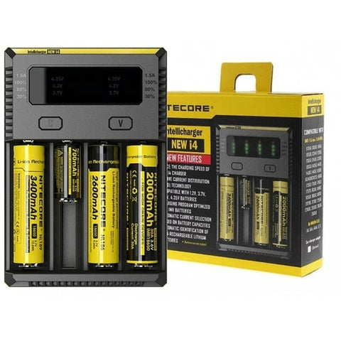 New Nitecore I4 Intellicharger