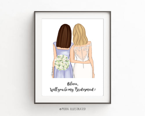 Unique bridesmaid gift