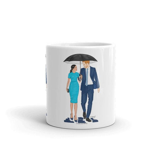 Meghan Markle and Prince Harry Coffee Mug, Duke and Duchess of Sussex