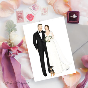Wedding & Save the Date Illustrations