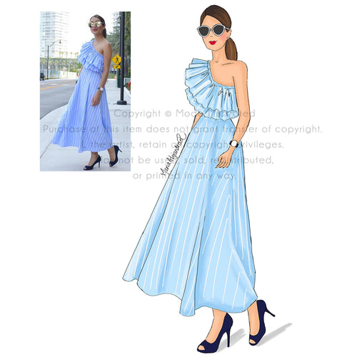 Personalized Fashion Illustration