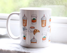 Load image into Gallery viewer, Gift for Coffee Lover, But First Coffee, Mug with saying, Girly Fashion Mug, pretty chic, unique gift for her, Thank you, mug for teacher