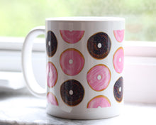 Load image into Gallery viewer, Donut art coffee cup