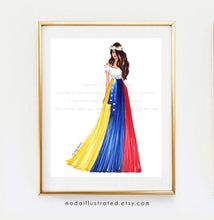 Load image into Gallery viewer, Moda Illustrated Venezuelan inspired art