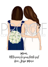 Load image into Gallery viewer, Bridal Party Proposal and Thank You Card Semi Customizable