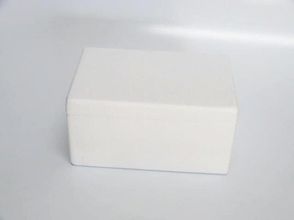 Polystyrene Box with Ice