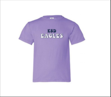 Summit Bubble Letters ESD EAGLES Tee