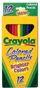 Crayola Colored Pencils (12 pack)