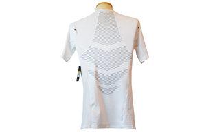 Nike Pro White HyperCool Fitted Tee