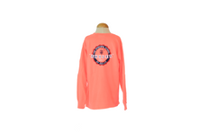 Load image into Gallery viewer, Summit Youth Long Sleeve Neon Red Tee