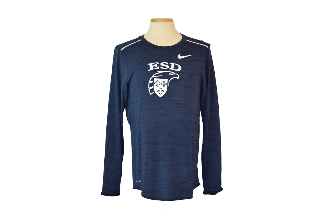 Nike Sideline Long Sleeve Breathe Player Tee