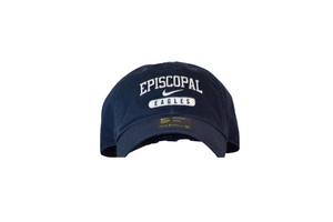 Nike Navy Campus Cap with EPISCOPAL EAGLES