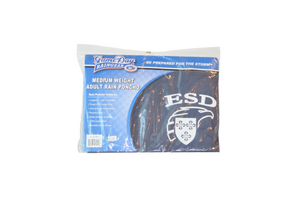 Game Day Raingear Medium Weight Poncho with ESD Eagle Shield