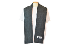 Load image into Gallery viewer, ESD Embroidered Scarf