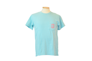 Summit Mint Tee with Coral