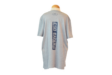 Load image into Gallery viewer, Under Armour Youth Gray Tee with Distressed ESD EAGLES