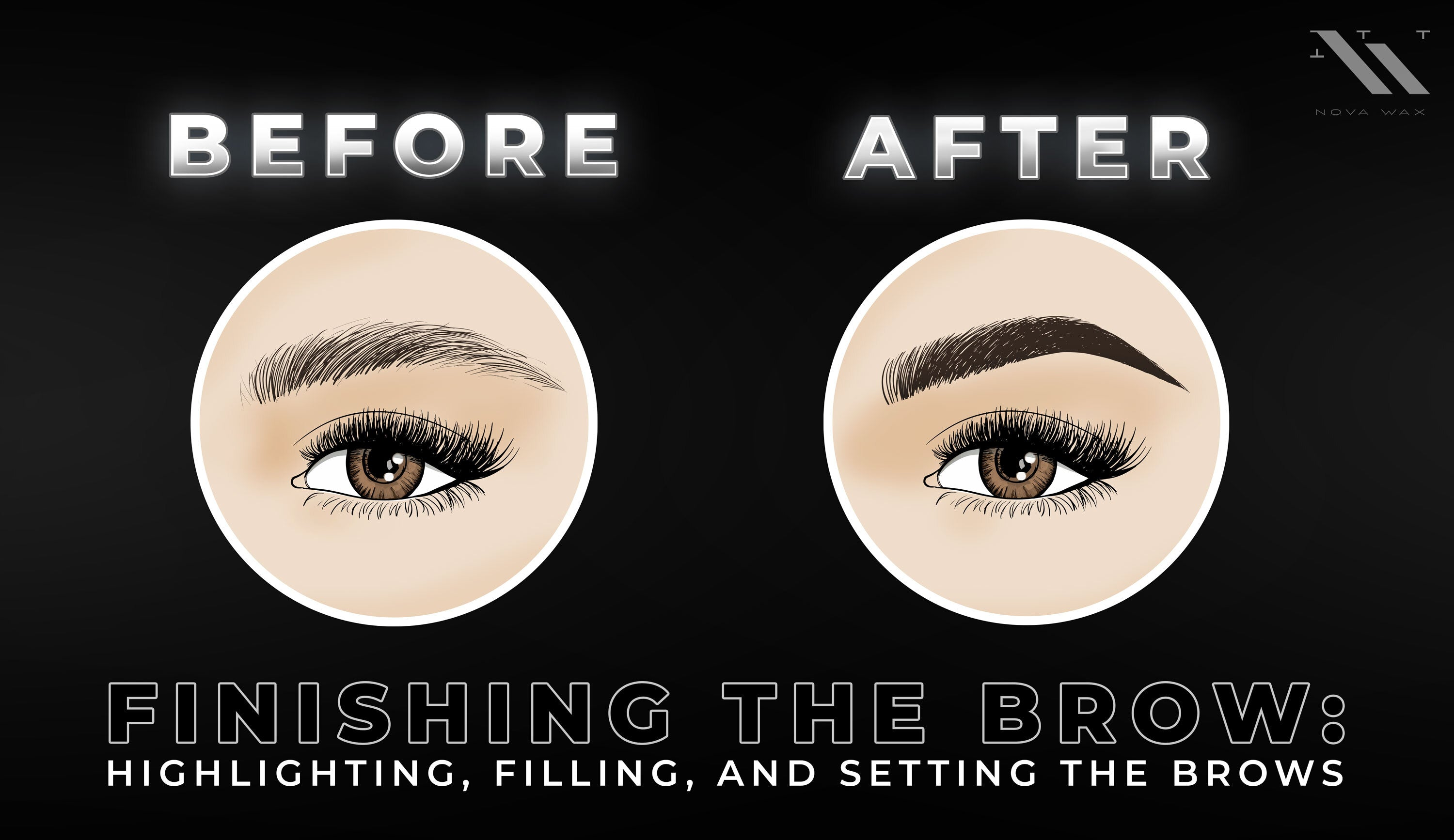 Highlighting, Filling and Setting Brows