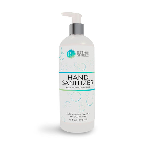 16oz / 473ml Premium Hand Sanitizer Gel by Esthie Shield