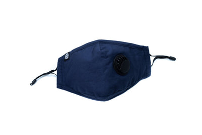 Esthie Shield Protective Face Mask (PM2.5 Filter) Navy Blue Mask
