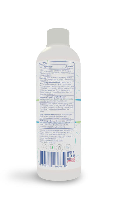 4oz / 118ml Premium Hand Sanitizer Gel by Esthie Shield