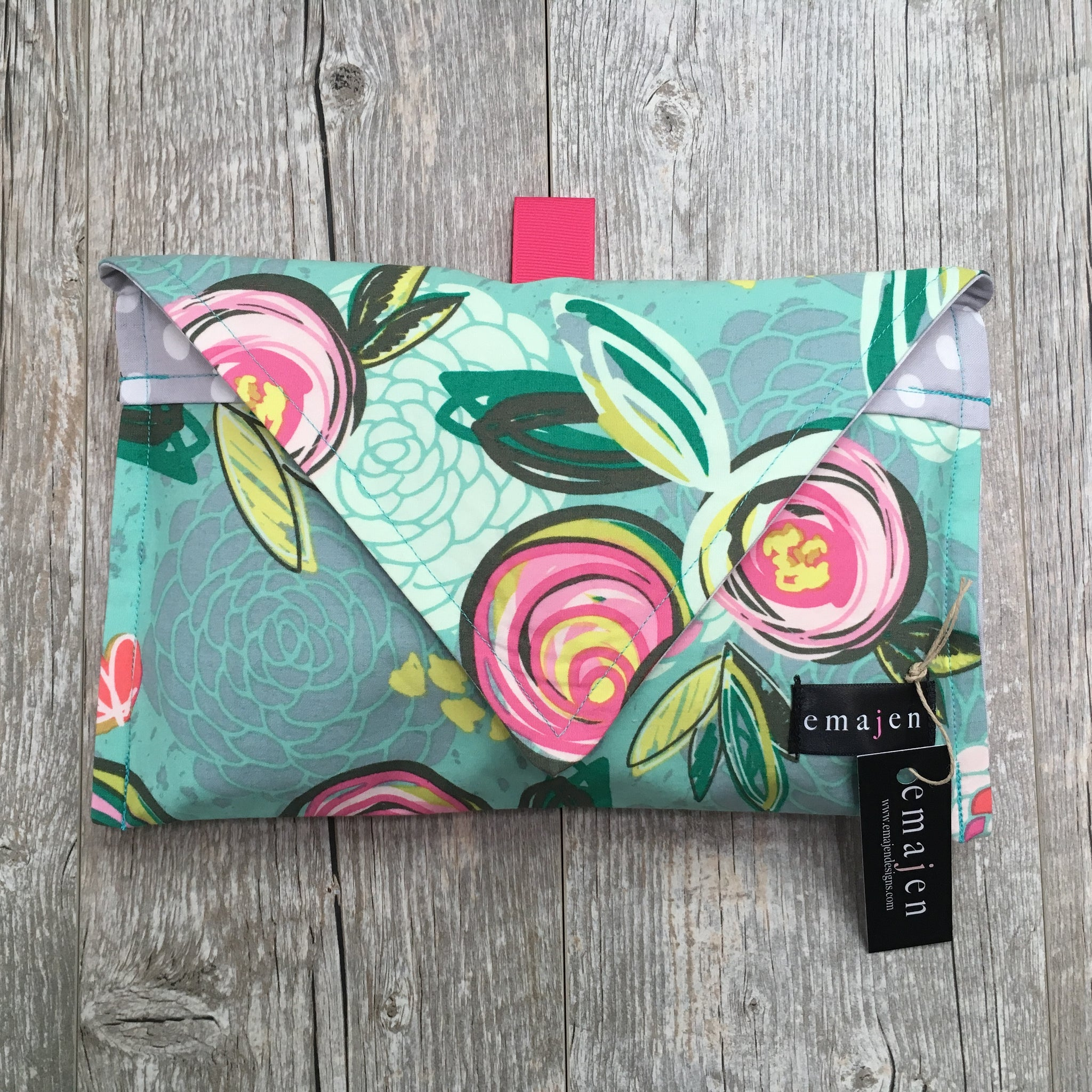 Diaper + Wipe Envelope Clutch