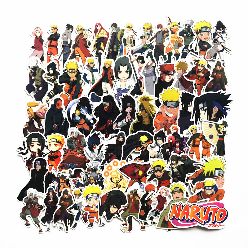 Naruto 63 Piece Sticker Set