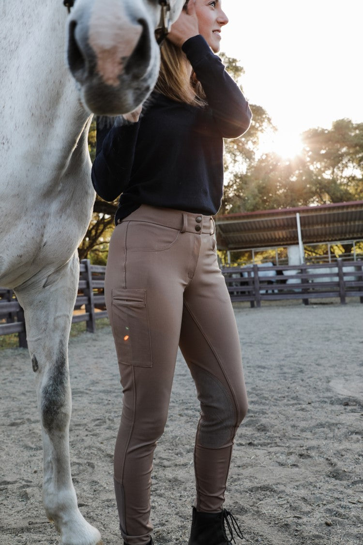 Signature Breeches - Camel