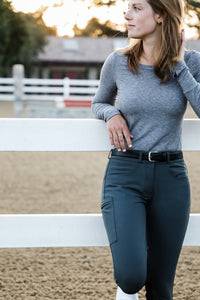 Signature Breeches - Slate