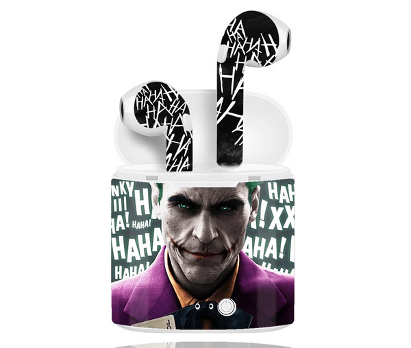 WRAPPED BLUETOOTH EARPODS - Joker