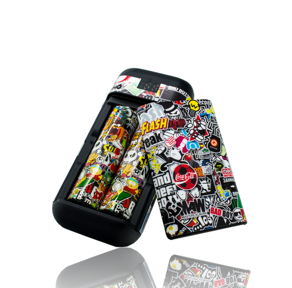 XTAR PB2 PORTABLE CHARGER SKIN - Sticker Bomb