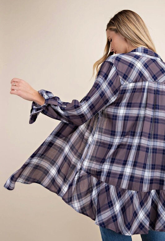 Plaid Is Rad Layering Top