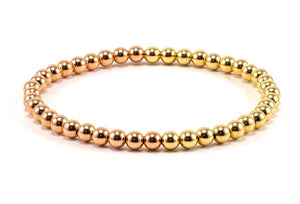 MIAMI ROSE/ YELLOW GOLD BRACELET