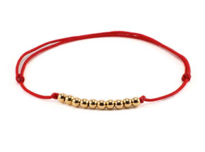 ESTHER RED STRING BRACELET