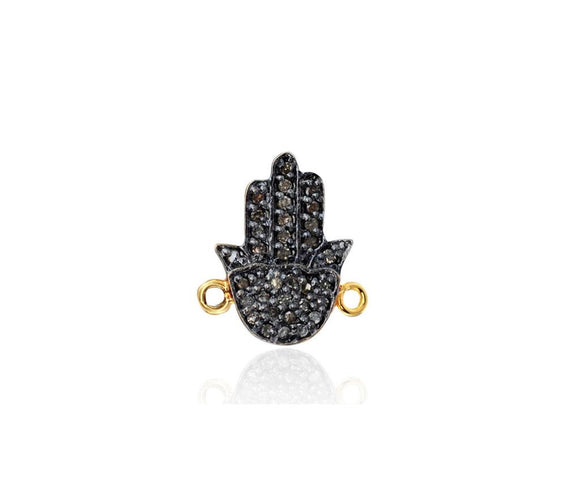 black diamond hamsa