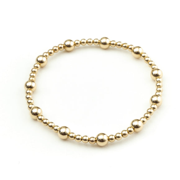 LELE YELLOW GOLD BRACELET