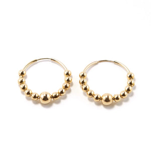 CELESTE 24 MM EARRING
