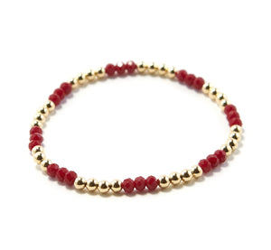 KIKA SWAROVSKI RUBY SET