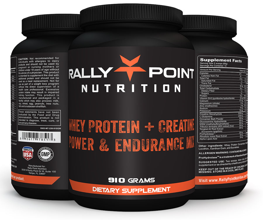 Rally Point Nutrition's All In One Power Mix