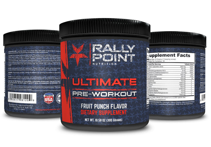 Rally Point's Ulitmate Pre Workout (Fruit Punch)