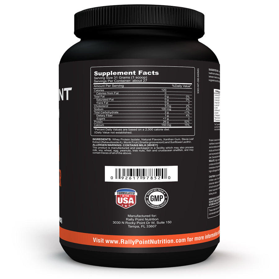 Rally Point Nutrition Whey Protein Powder