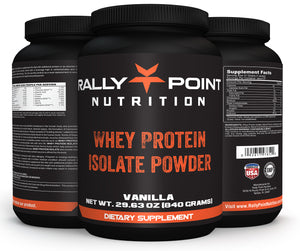 Rally Point Nutrition Whey Protein Isolate Powder
