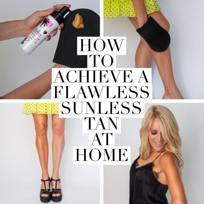 how to achieve a flawless tan at home